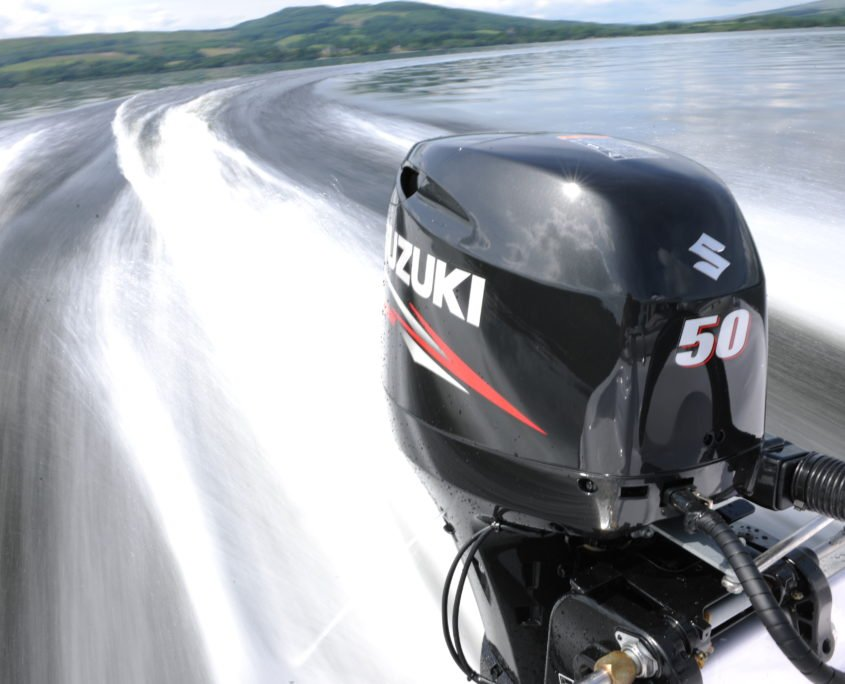 We are authorized reseller and service center for Suzuki outboard